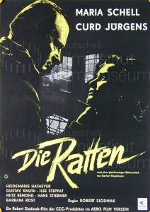 Filmplakat Die Ratten 02
