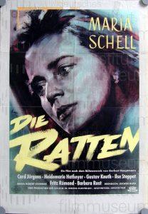 Filmplakat Die Ratten 01