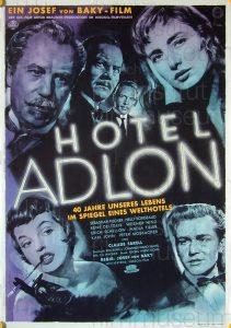 Filmplakat Hotel Adlon