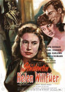 Filmplakat Studentin Helen Willfüer