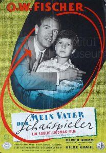 Filmplakat Mein Vater, der Schauspieler