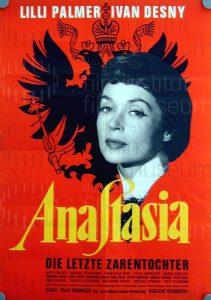 Filmplakat Anastasia, die letzte Zarentochter