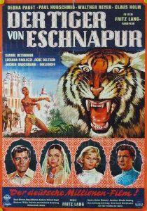 Filmplakat Der Tiger von Eschnapur