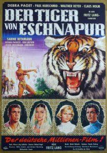 Filmplakat Der Tiger von Eschnapur 02
