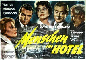 Filmplakat Menschen im Hotel 02
