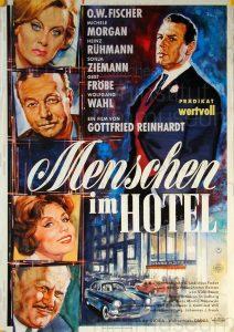 Filmplakat Menschen im Hotel