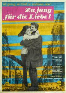 Filmplakat Zu jung für die Liebe