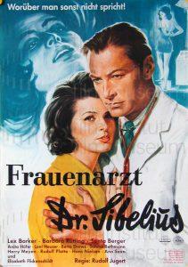 Filmplakat Frauenarzt Dr. Sibelius