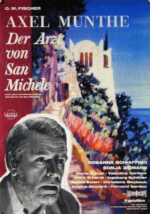 Filmplakat Axel Munthe, der Arzt von San Michele