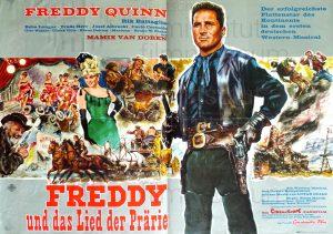 Filmplakat Freddy und das Lied der Prärie 01