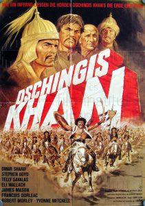 Filmplakat Dschingis Khan