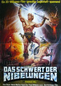 Filmplakat Die Nibelungen - 1. Teil: Siegfried von Xanten 03