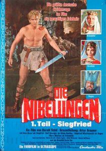 Filmplakat Die Nibelungen - 1. Teil: Siegfried von Xanten 01