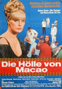 Filmplakat Die Hölle von Macau