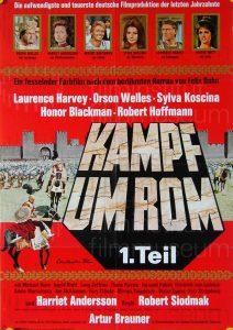 Filmplakat Kampf um Rom 1. Teil 01