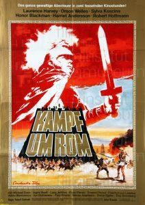 Filmplakat Kampf um Rom 1. Teil 02