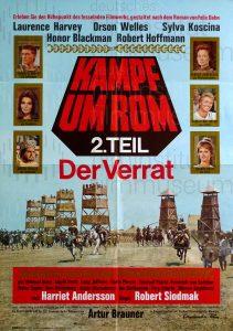 Filmplakat Kampf um Rom - 2. Teil: Der Verrat