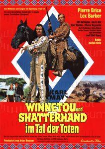 Filmplakat Winnetou und Shatterhand im Tal der Toten