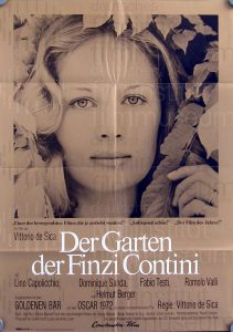 Filmplakat Der Garten der Finzi Contini 01