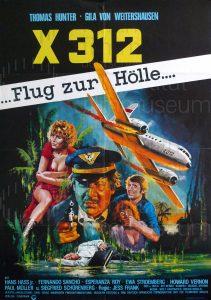 Filmplakat X 312 Flug zur Hölle
