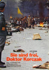 Filmplakat Sie sind frei, Dr. Korczak