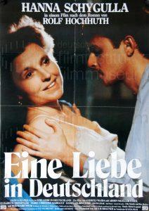 Filmplakat Eine Liebe in Deutschland