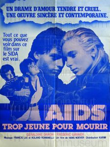 Filmplakat Gefahr für die Liebe - AIDS