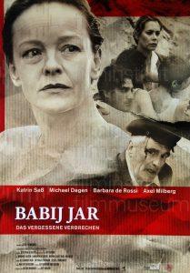Filmplakat Babij Jar - Das vergessene Verbrechen
