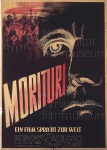 Filmplakat Morituri 02