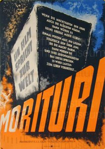 Filmplakat Morituri 01