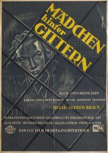 Filmplakat Mädchen hinter Gittern