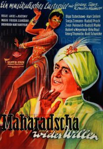 Filmplakat Maharadscha wider Willen 02
