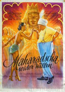 Filmplakat Maharadscha wider Willen 01