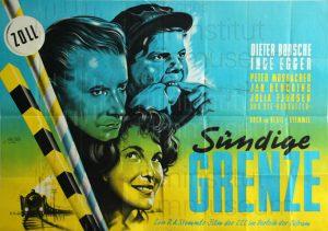 Filmplakat Sündige Grenze 03