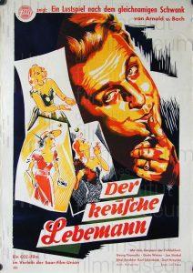 Filmplakat Der keusche Lebemann 02