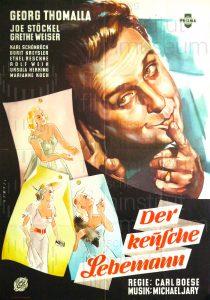 Filmplakat Der keusche Lebemann