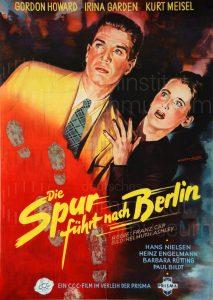 Filmplakat Die Spur führt nach Berlin 01