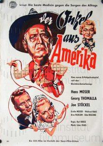 Filmplakat Der Onkel aus Amerika
