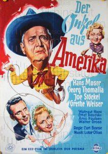 Filmplakat Der Onkel aus Amerika 01