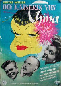 Filmplakat Die Kaiserin von China