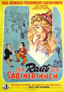 Filmplakat der Raub der Sabinerinnen 02