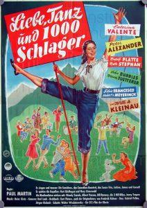 Filmplakat Liebe, Tanz und 1000 Schlager 01