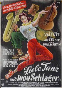 Filmplakat Liebe, Tanz und 1000 Schlager 02