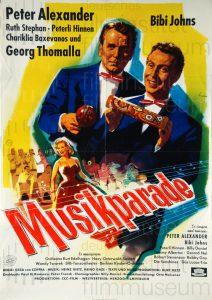 Filmplakat Musikparade