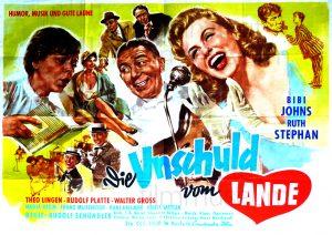 Filmplakat Die Unschuld vom Lande