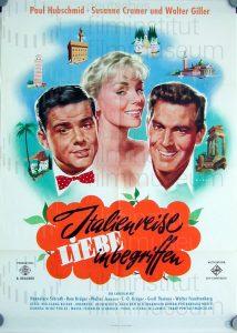 Filmplakat Italienreise -Liebe inbegriffen