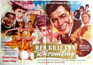 Filmplakat Der Graf von Luxemburg