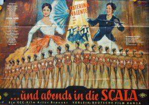 Filmplakat Und abends in die Scala 02