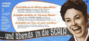 Filmplakat Und abends in die Scala 03