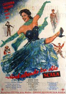 Filmplakat Und abends in die Scala 01